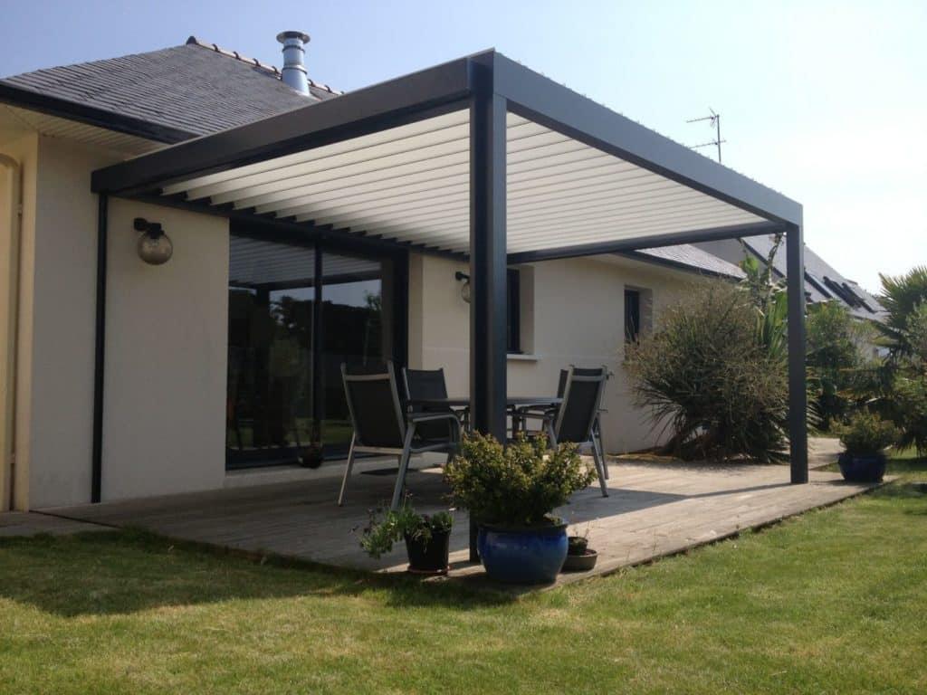 Aménagement terrasse, Quimper Finistère